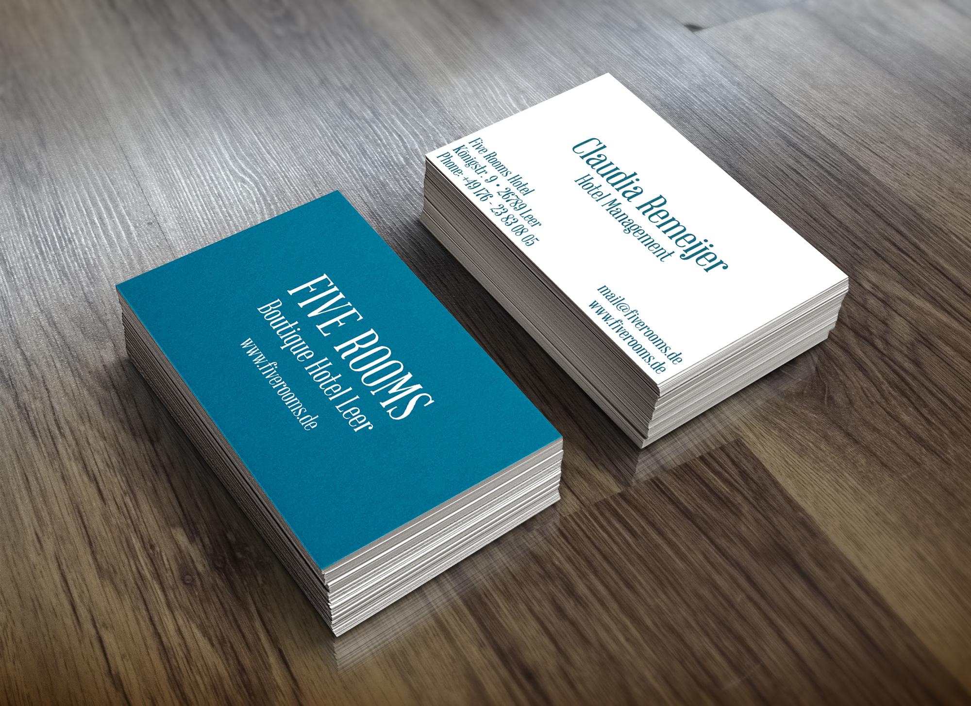 fiverooms-visitenkarten